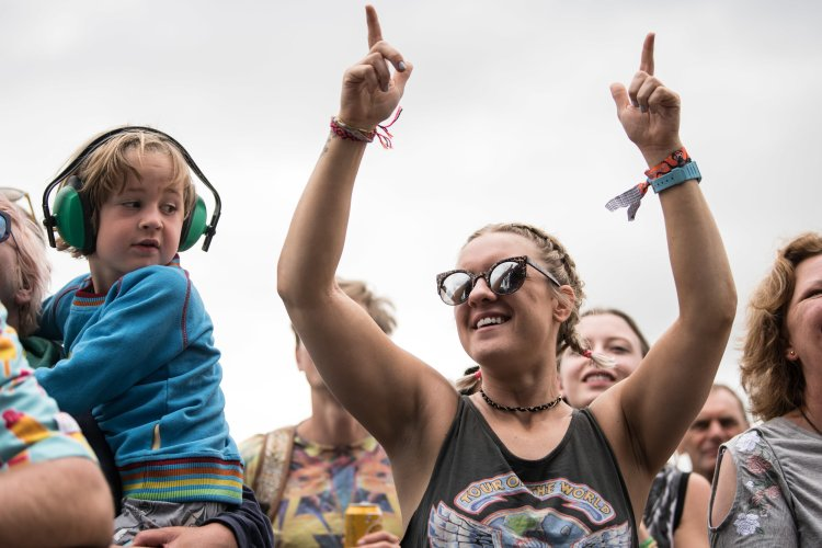 Hacienda Classical performing on the Pyramid Stage
