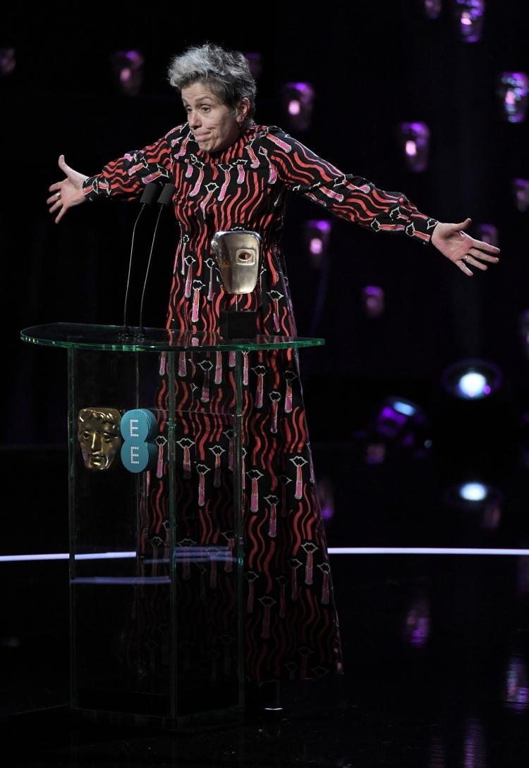 Frances McDormand - Leading Actress - 'Three Billboards Outside Ebbing, Missouri'
