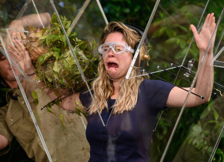 Live Trial: The Jungle X Factor - Emily Atack