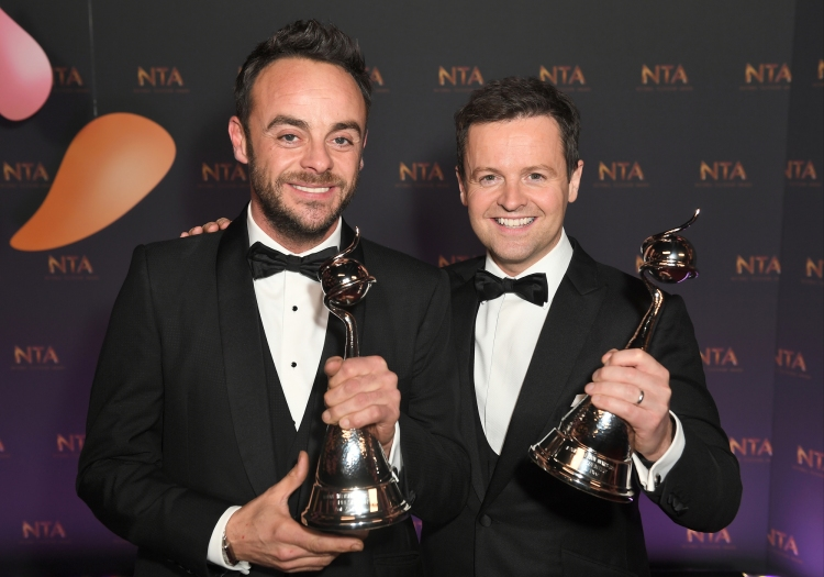 TV Presenter - Ant & Dec - Anthony McPartlin and Declan Donnelly